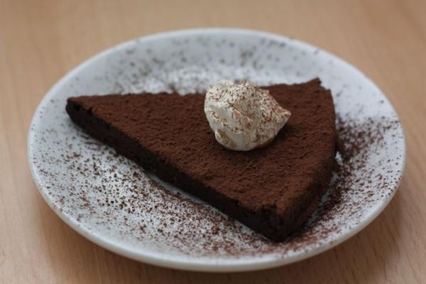 Rýchly čokoládový koláč
