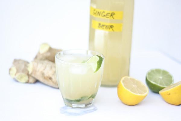Zázvorové pivo (ginger ale)